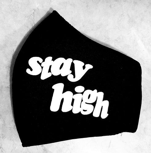 Stay high black mask