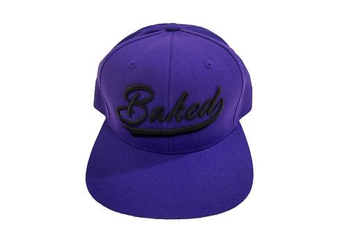 Baked Hat (Purple/Black)