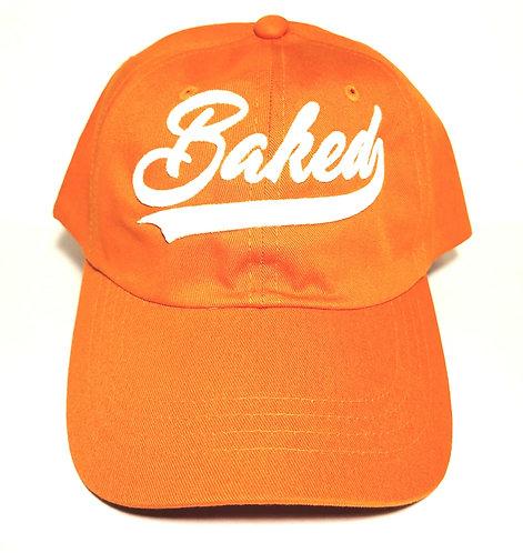 Baked Hat (Orange/White)