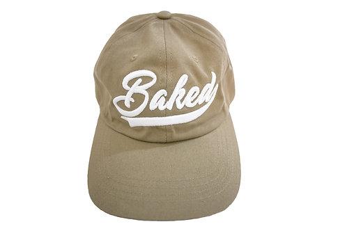 Baked Hat (Tan/White)
