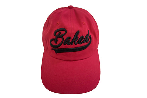 Baked Hat (Red/Black)