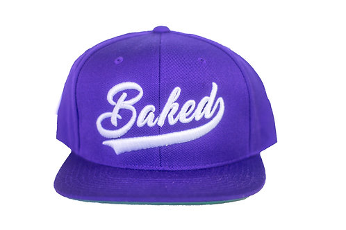 Baked Hat (Purple/White)