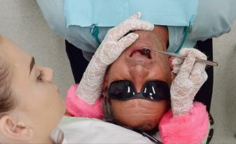Dental Nurse and Patient Bytes Dental Ballina & Lismore
