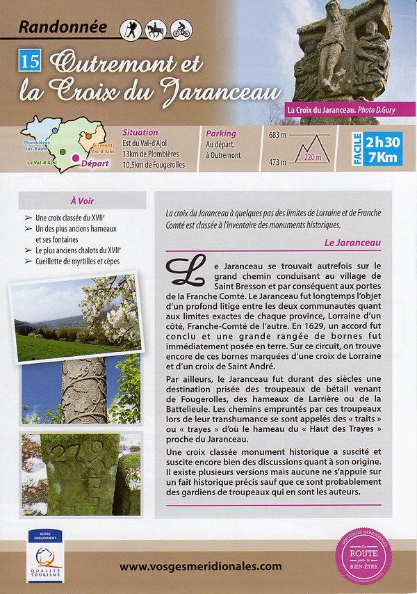 15 Outremont et la croix du Jaranceau a.