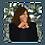 "Thumbnail: Kamala Harris Window Decal 3""x3"""