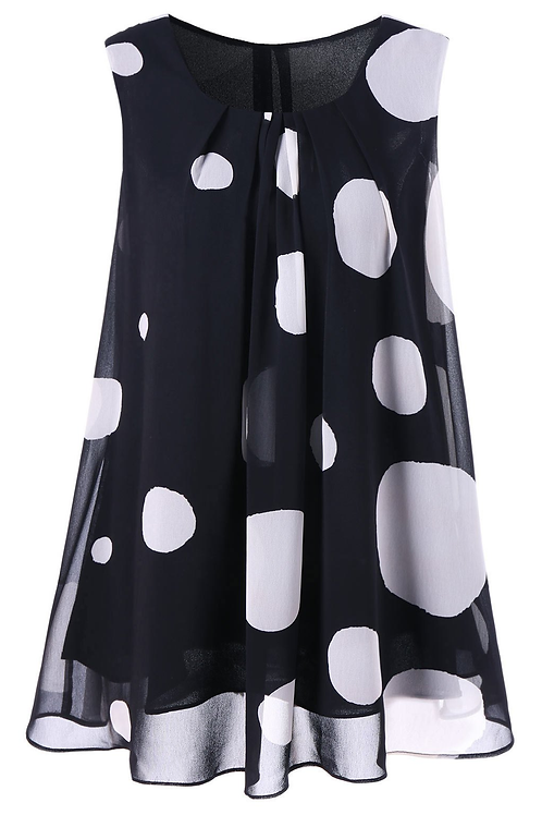 Polka Dot Princess Blouse