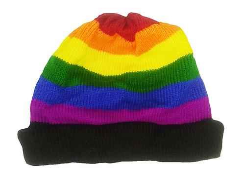 Rainbow Skully Hat