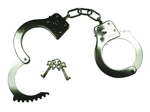 Official Chrome Nickle Polished Handcuffs