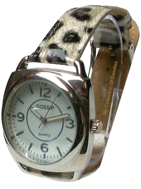 Gossip China White Leopard Watch