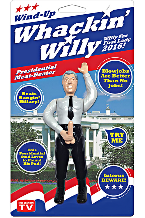"Whackin' Willy ""Bill Clinton"" Wind UpToy"