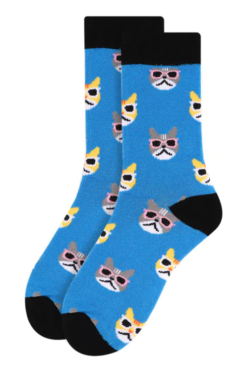 You're One Cool Cat Socks