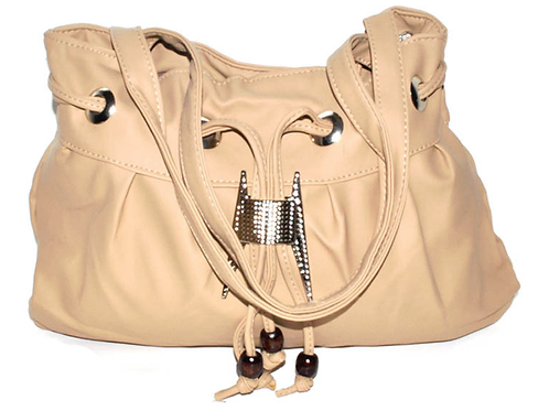 Beige Snag A Tooth Pocketbook