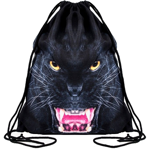 Black Panther 3D Backpack