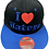 Thumbnail: I Love Haters Snapback Baseball Caps