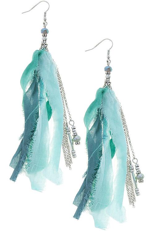 Tassle Beaded Earrings