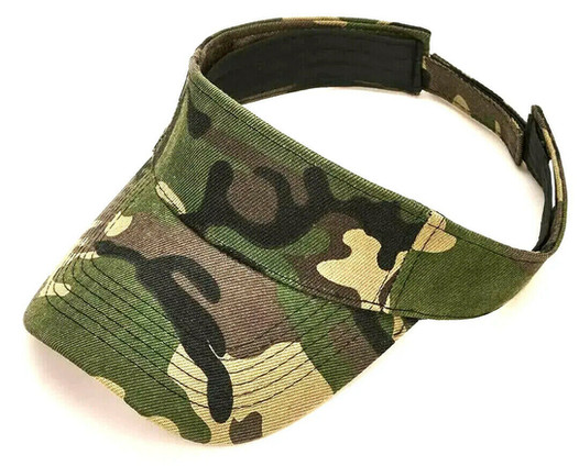 Camouflage Sun Visor - Hat