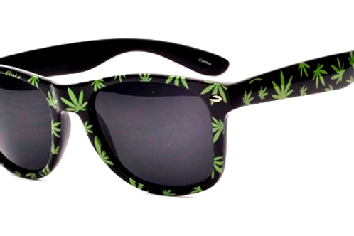 Pot Leaf Sun Glasses