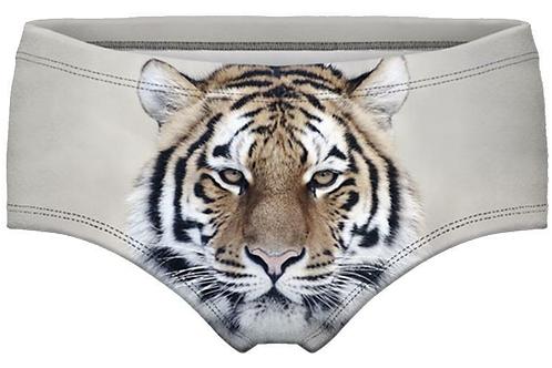 Queen Of The Bedroom 3D Tiger Panties