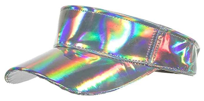 Holographic Sun Visor -  Hat