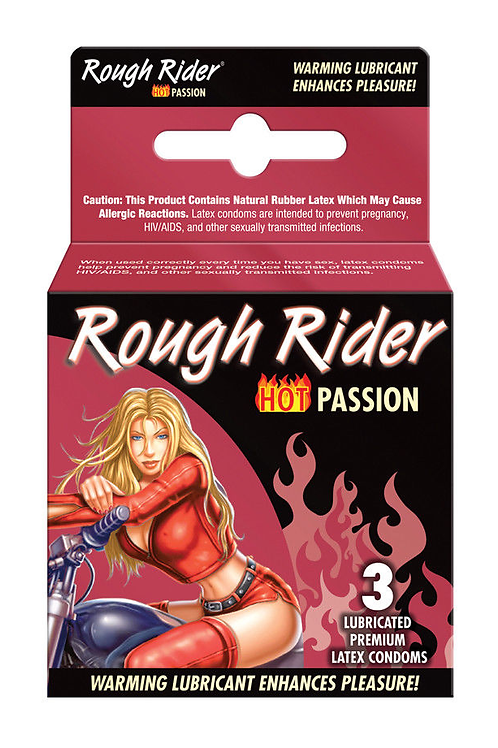 Rough Rider Warming Condoms