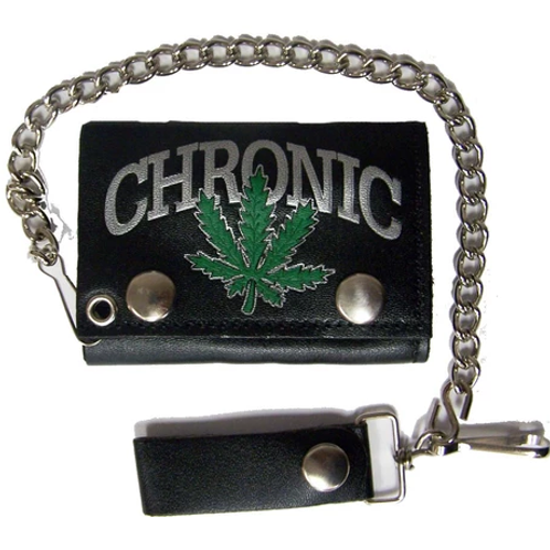 The Chronic Leather Wallet