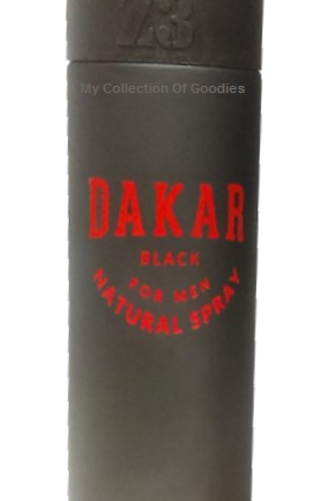 Dakar BLACK Cologne Spray