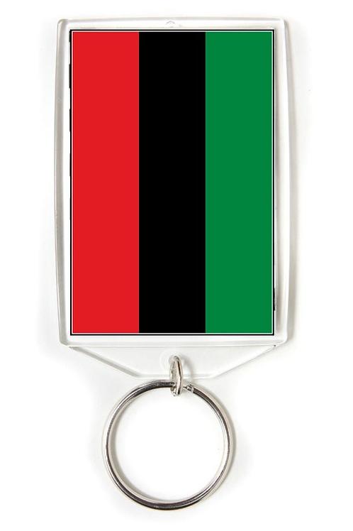 Black Power Flag Key Chain