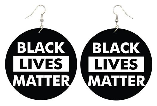 BLACK LIVES MATTER - Earrings