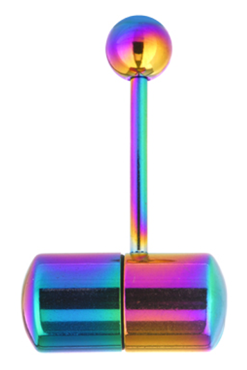Rainbow Vibrating Tongue Ring