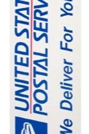 Magnet Postal Vehicle Door Sign