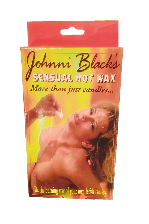 Johnni's Black Sensual Hot Wax