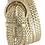 Thumbnail: Metallic Braided Woven Belt