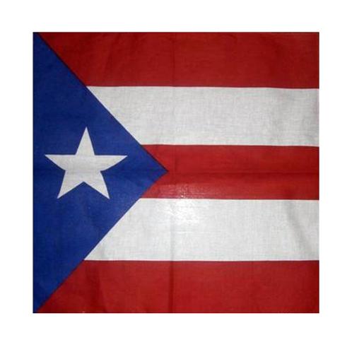 Puerto Rico Flag bandana
