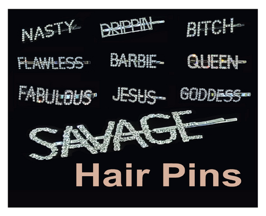 RHINESTONE - Hair Pins