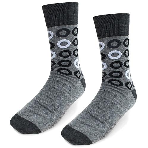 Men Flying Circle Socks