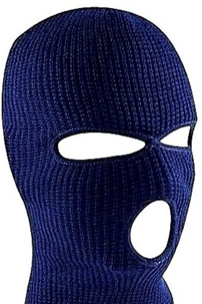 Postal Winter Ski Mask / Navy-Blue