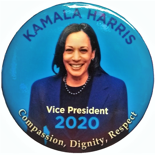 Vice President Kamala Harris Large Clothes Pin