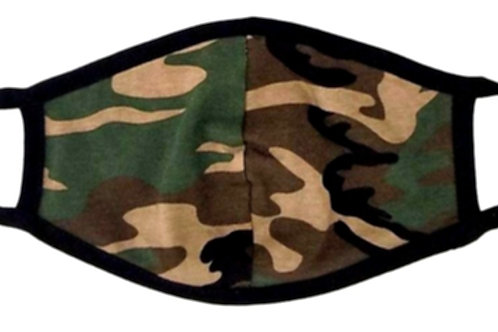 Camouflage Reusable Face Mask