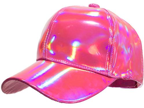 Holographic Snapback Baseball Cap