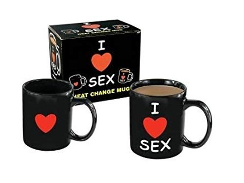 I Love Sex - Drinking Mug