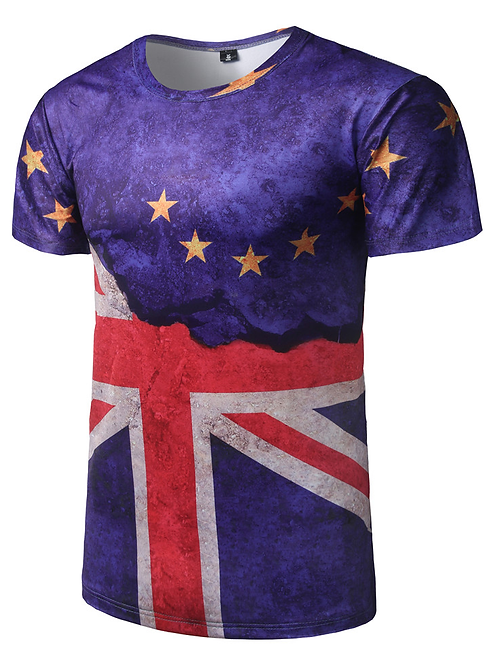 British Flag Stand Proud Tee