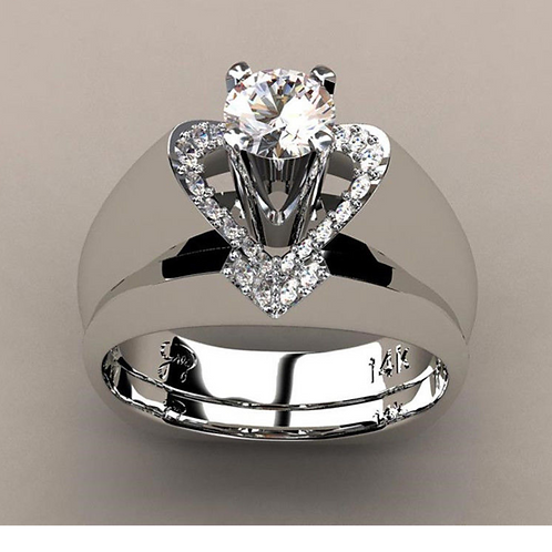 Heart 2 Heart Ring