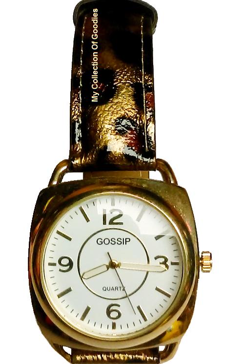 Gossip Leopard Band Watch