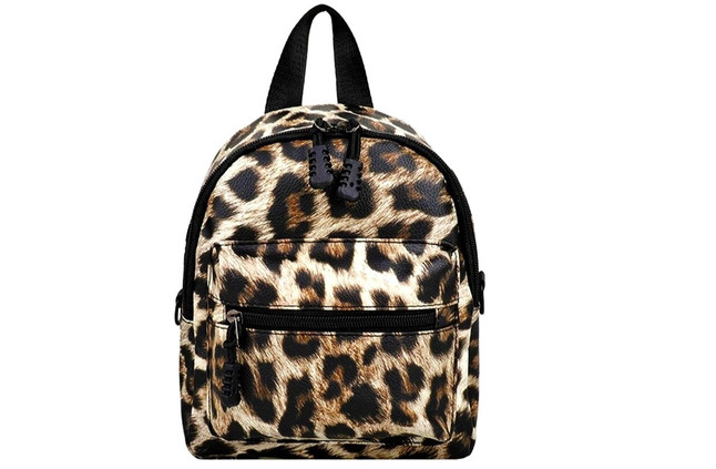 Realistic Leopard - Backpack