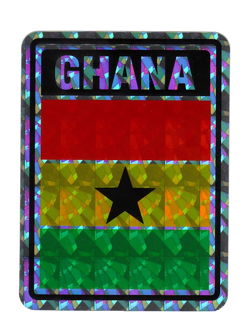 Ghana Reflective Hologram Sticker