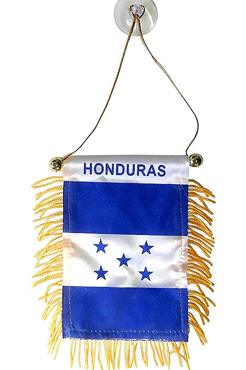 Honduras Flag Mini Car Banner