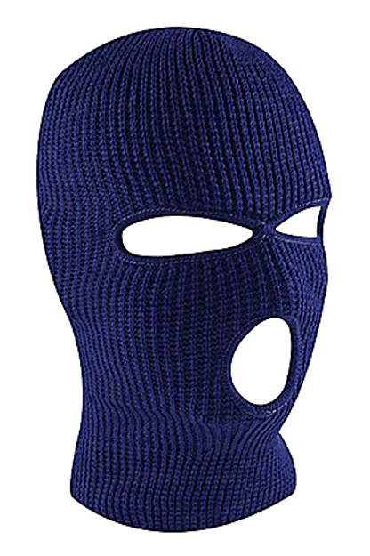 Postal Ski Mask - Navy Blue