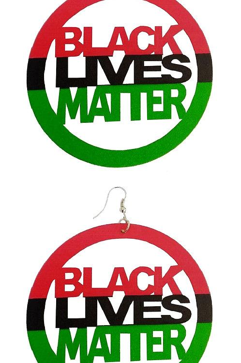 Black Lives Matter - Mother Land Earrings