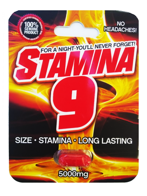 Stamina 9 Sexual Enhancement Pill