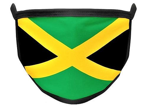 Jamaica Flag Face Mask